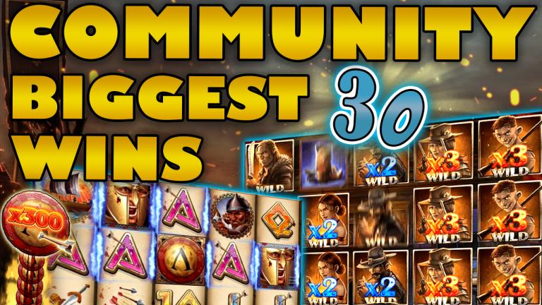 Community Big Wins Slots Compilation Video: #30/2019