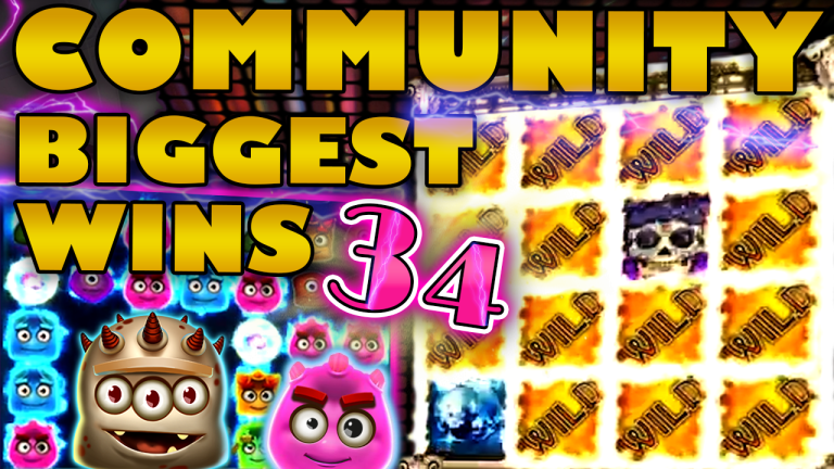 Community Big Wins Slots Compilation Video: #34/2019