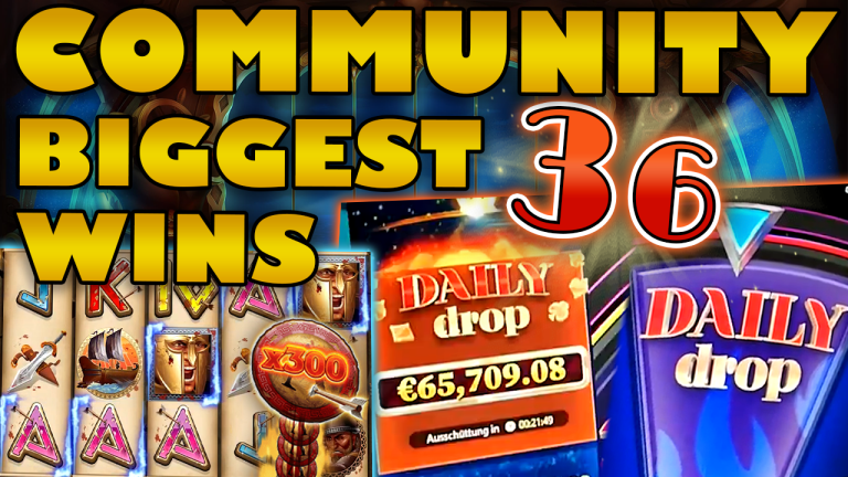 Community Big Wins Slots Compilation Video: #36/2019