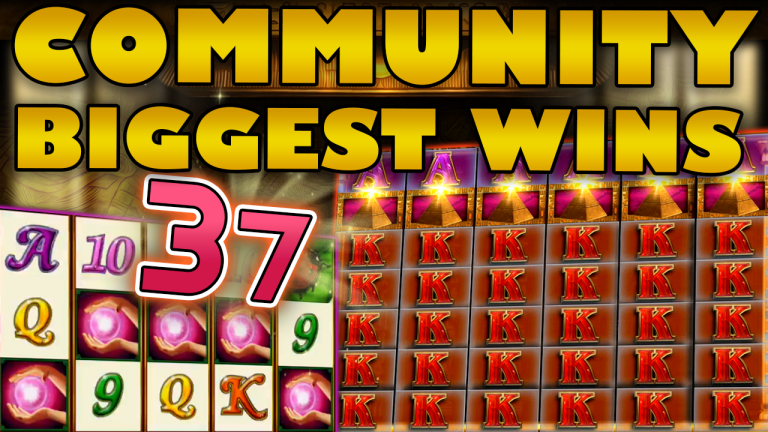 Community Big Wins Slots Compilation Video: #37/2019