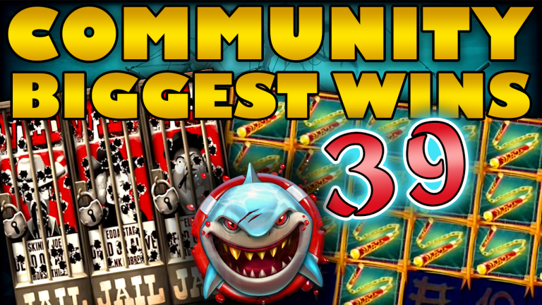 Community Big Wins Slots Compilation Video: #39/2019
