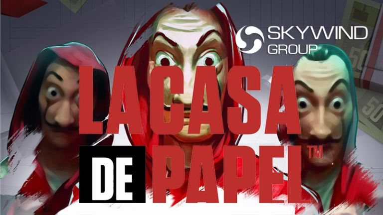 Skywind Group Announces La Casa De Papel (Money Heist) Video Slot