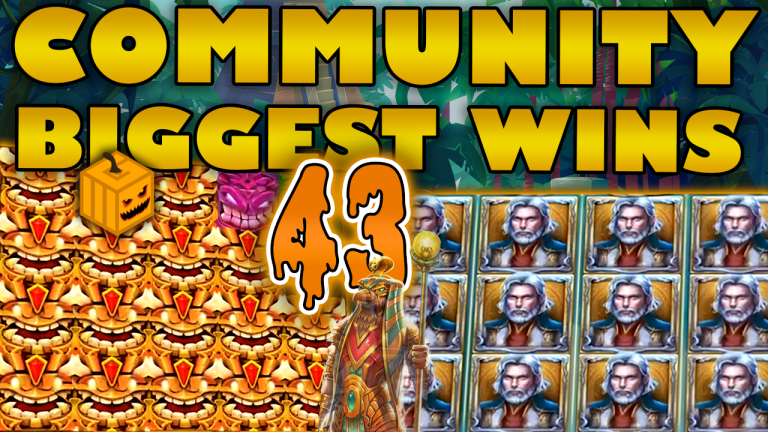 Community Big Wins Slots Compilation Video: #43/2019