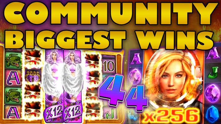 Community Big Wins Slots Compilation Video: #44/2019