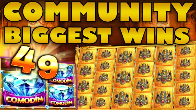 Community Big Wins Slots Compilation Video: #49/2019