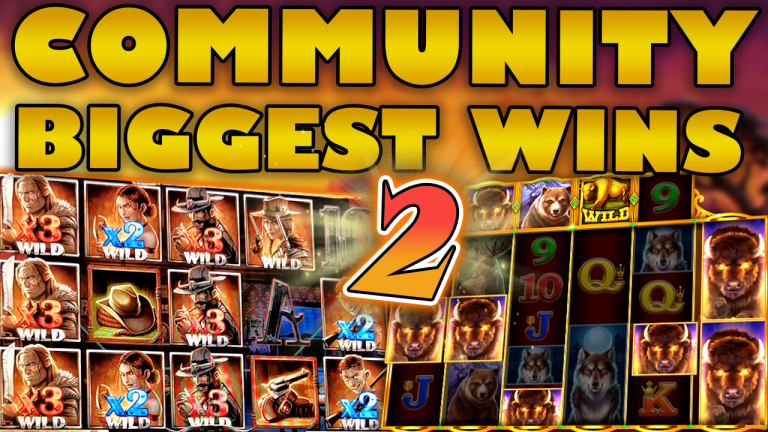 Community Big Wins Slots Compilation Video: #2/2020