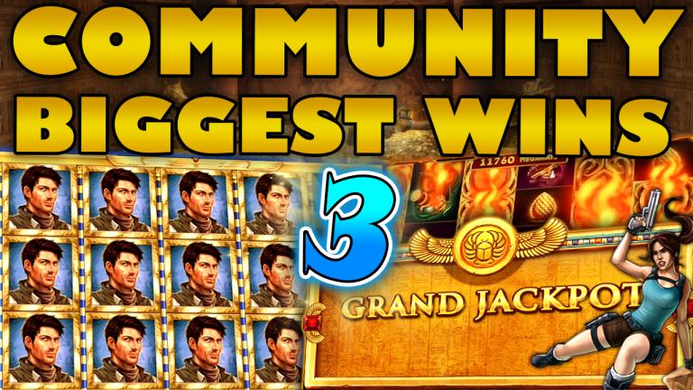Community Big Wins Slots Compilation Video: #3/2020