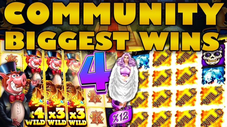 Community Big Wins Slots Compilation Video: #4/2020