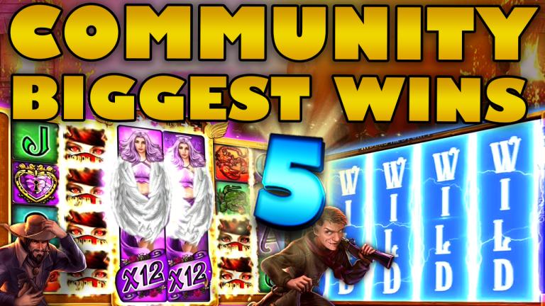 Community Big Wins Slots Compilation Video: #5/2020