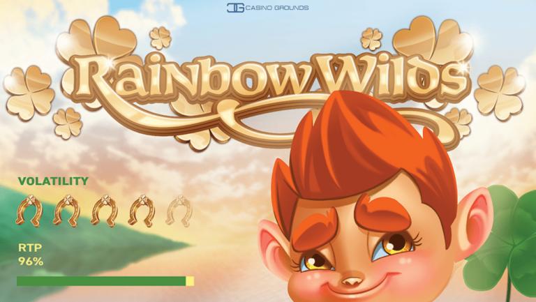 New Slot Review –  Iron Dog - Rainbow Wilds