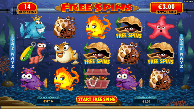 New Slot Review – Microgaming – Fish Party