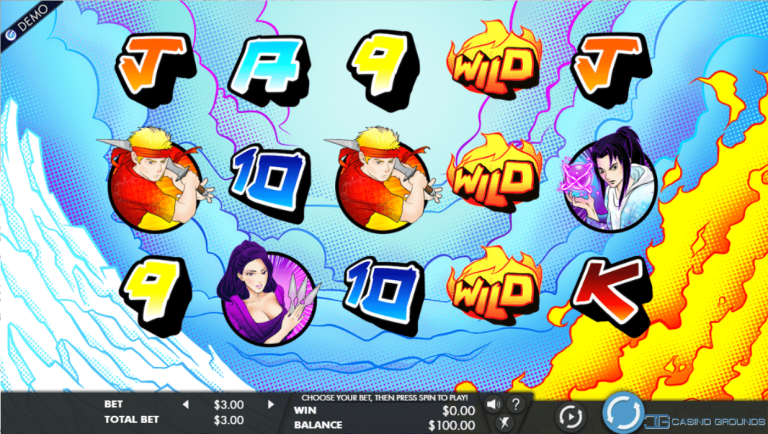 New Slot Review – Genesis – Fire and Ice Island