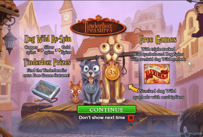 New Slot Review – Playtech - Tinderbox Treasures