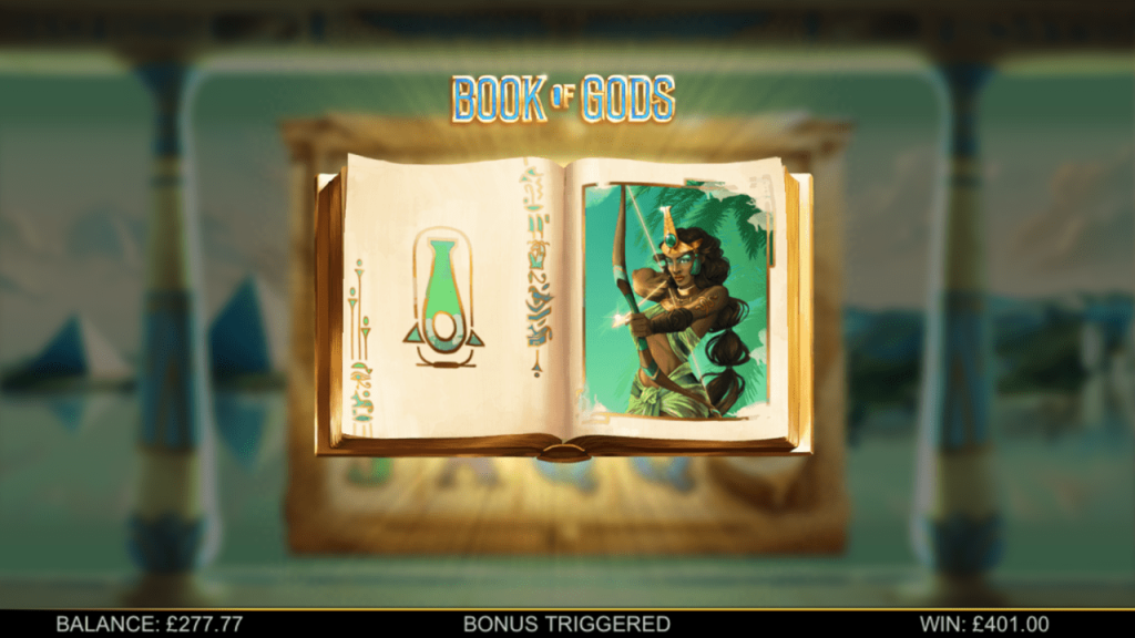 BTG - Book of Gods - Free spins book