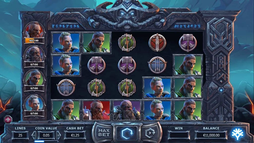 Yggdrasil - Vikings go to Hell - spin - reels - casinogroundsdotcom
