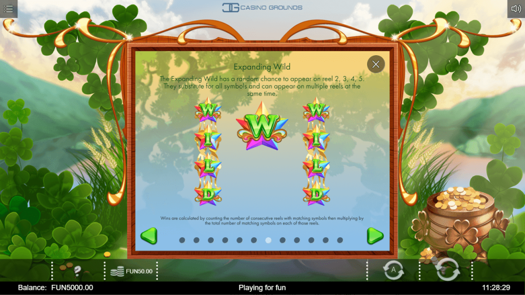 Iron Dog - Rainbow Wilds - Expanding Wild - casinogroundsdotcom