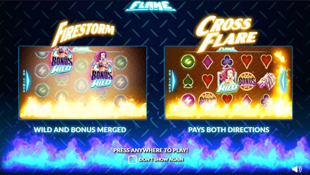 Nextgen - Flame - firestorm cross flare - casinogroundsdotcom