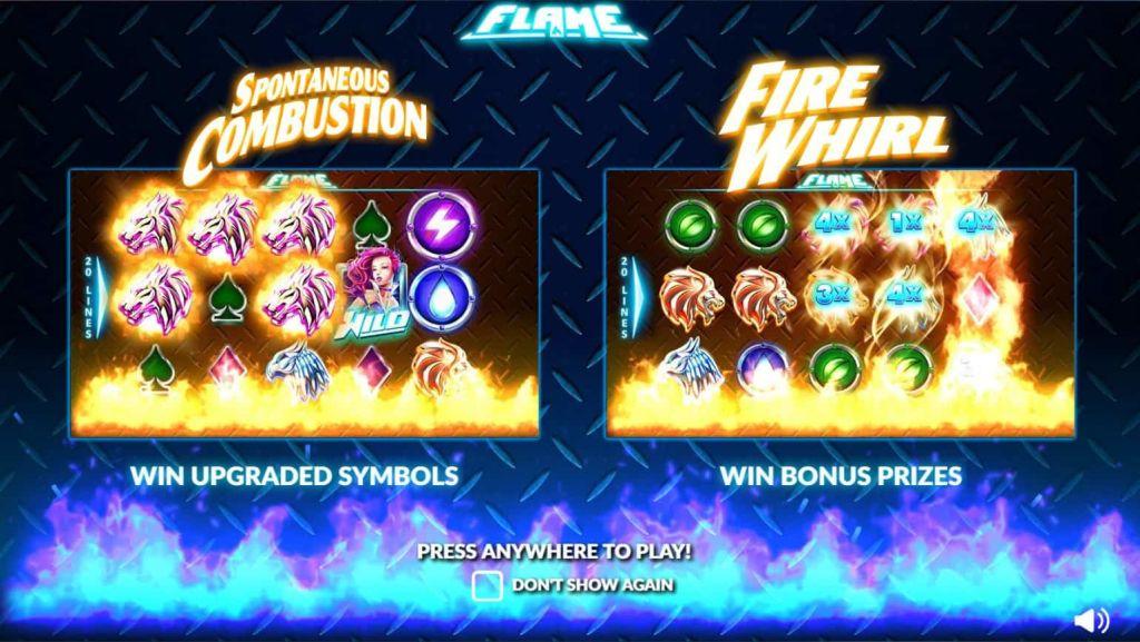 Nextgen - Flame - combustion fire whirl- casinogroundsdotcom