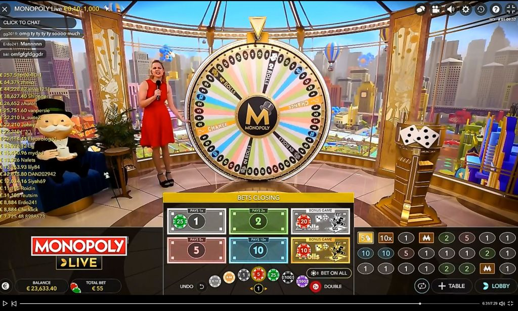 Monopoly live online