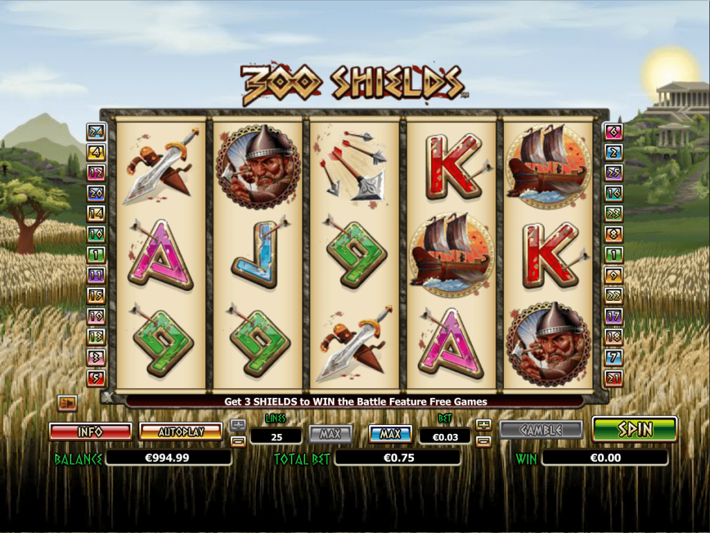 Nextgen - 300 shields - Reels - Casinogroundsdotcom