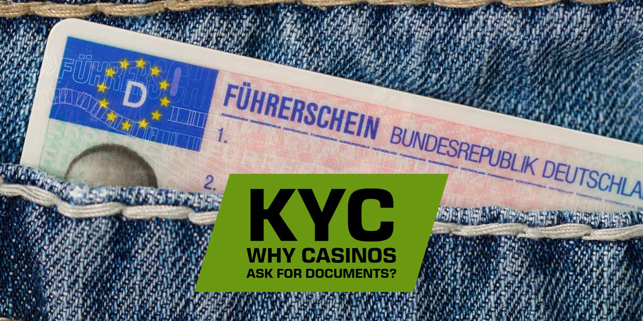 Know Your Customer - A guide to KYC and why casinos requests documentation from players