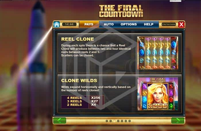 The Final Countdown Base Game Feature Info  Screenshot By Big Time Gaming