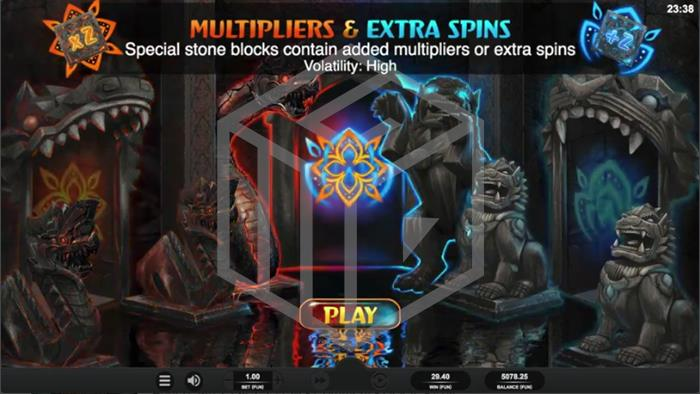 Temple Tumble Megaways Slot Volatility Pick Screenshot By Relax Gaming