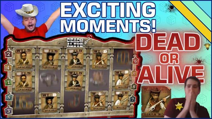 Dead Or Alive Slot Exciting Moments CasinoGrounds Video
