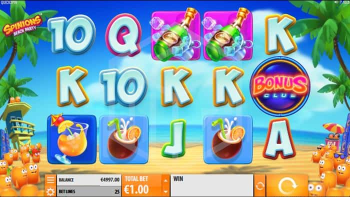 Spinions Slot Main Reels Screenshot By Quickspin