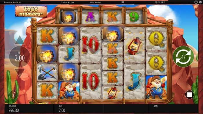 Diamond Mine Slot Mystery Symbol Screenshot