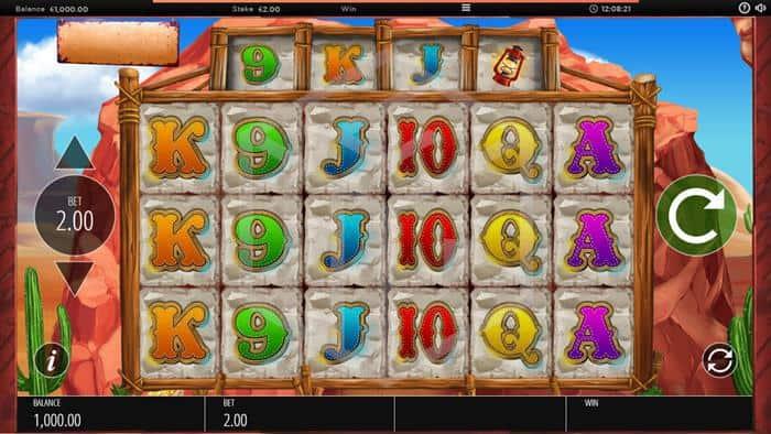 Diamond Mine Slot Main Reels Screenshot