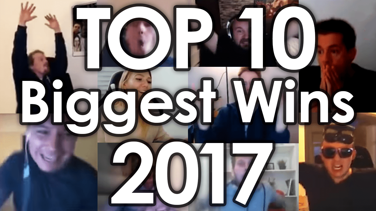 Top 10 Biggest wins 2017 reaching 1 million views