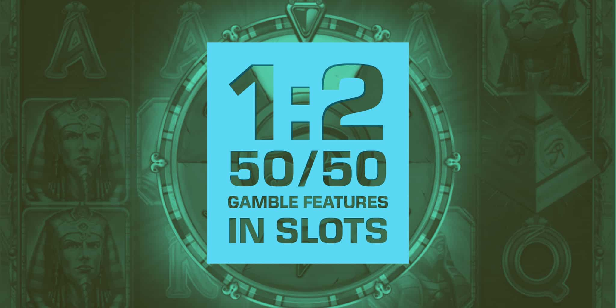 Three great Gamble Feature Slots