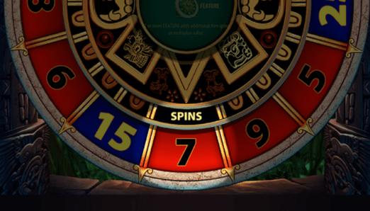 Montezuma bonus wheel
