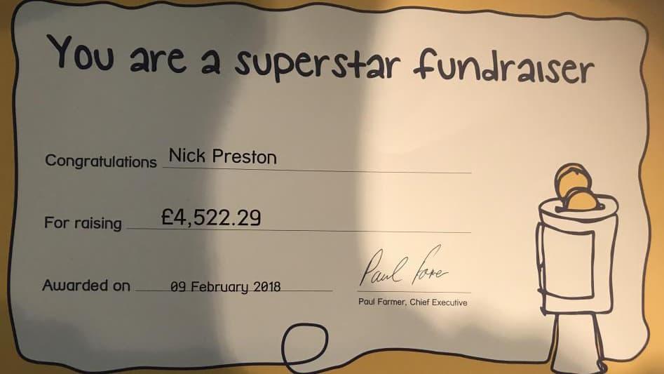 Nickslots fundraiser