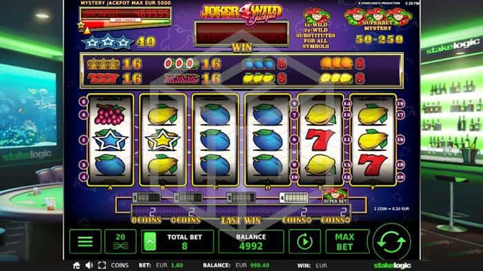 Stakelogic with new jackpot slots - joker4wild nudge runner