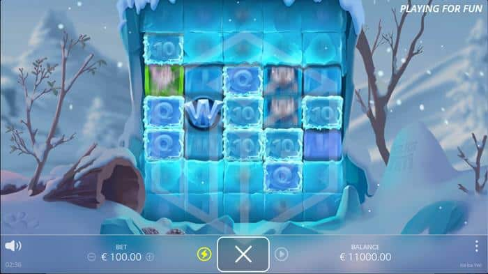 nolimit city. image showing ice ice yeti sticky win