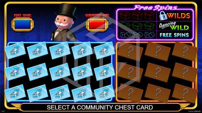 barcrest - monopoly big event. Image showing bonus