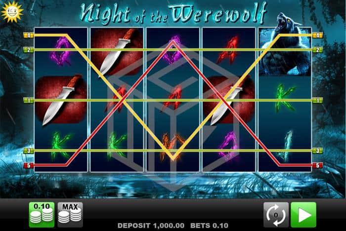 merkur - night of the werewolf. Image showing lines
