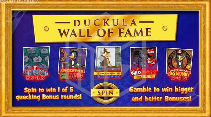 blueprint - count duckula. Image showing bonus features