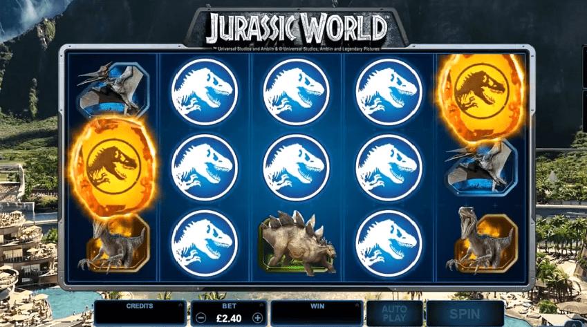 Jurassic World free spins