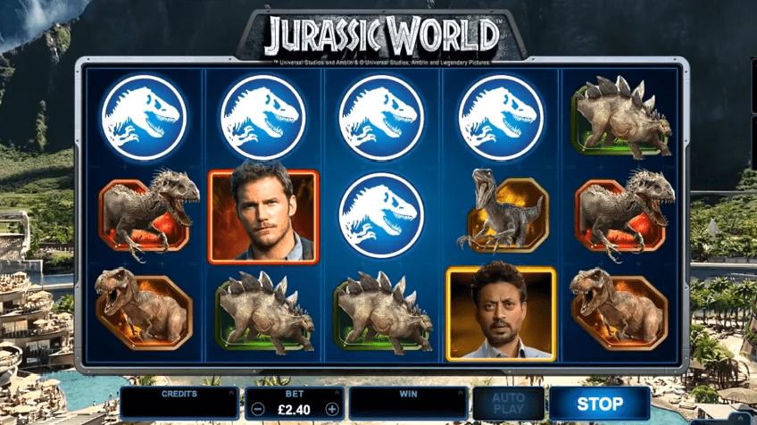 Jurassic World symbols