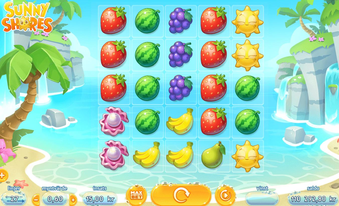 Sunny Shores slot symbols