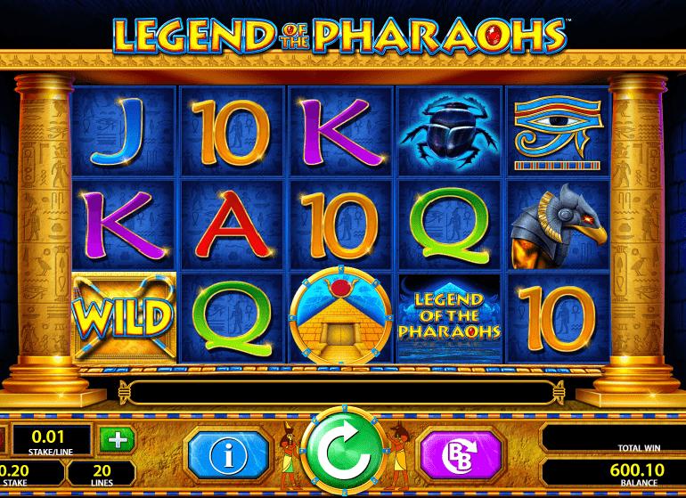 Legend of the Pharaohs casino slot