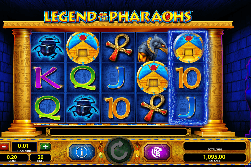 Legend of the Pharaohs slot review