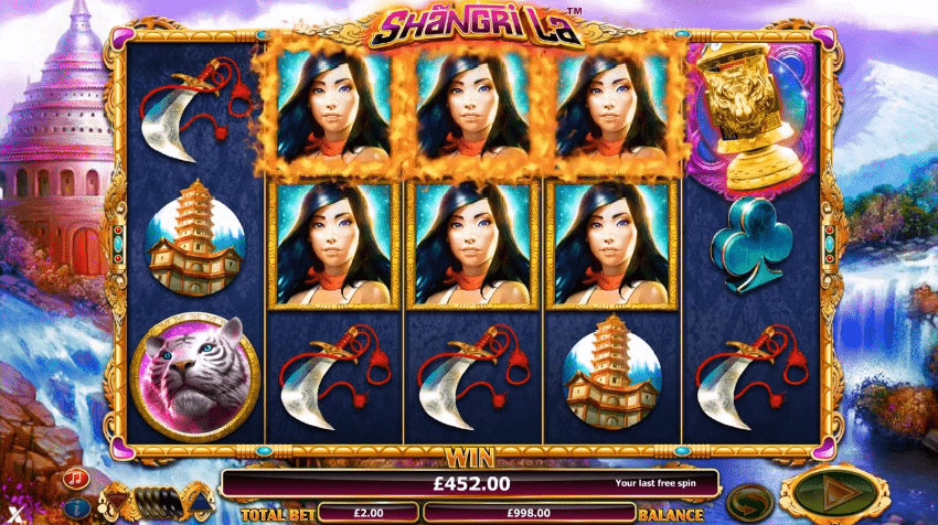 Shangri La online slot