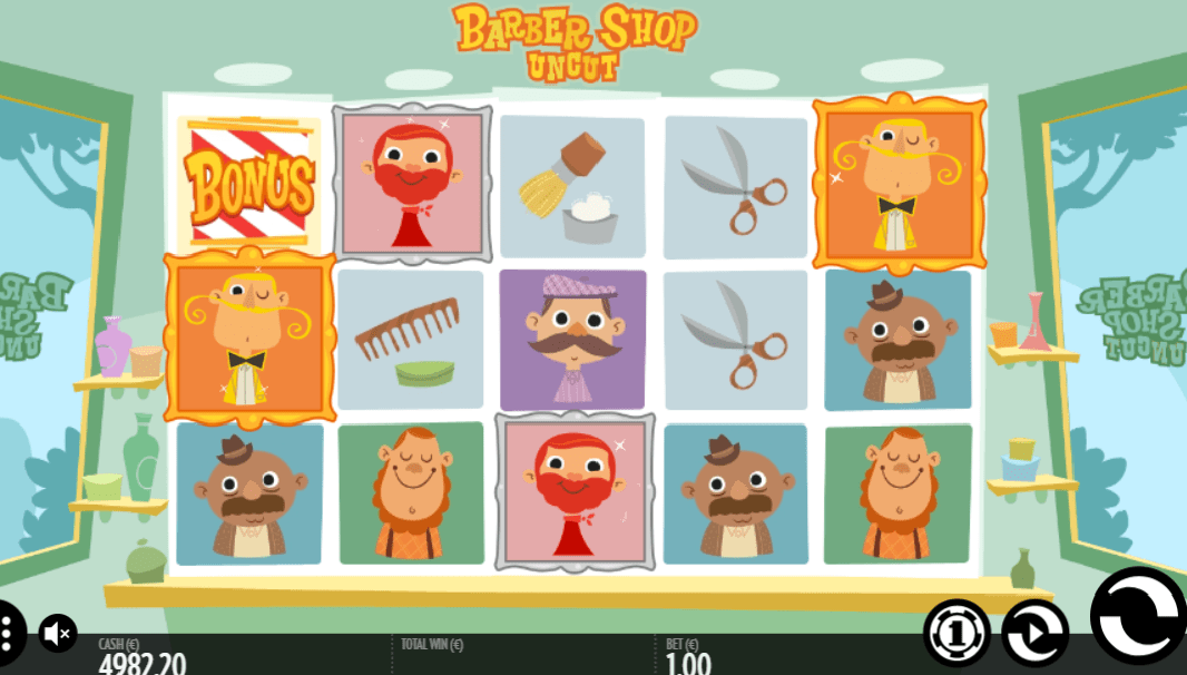 Barber Shop Uncut online slot base game
