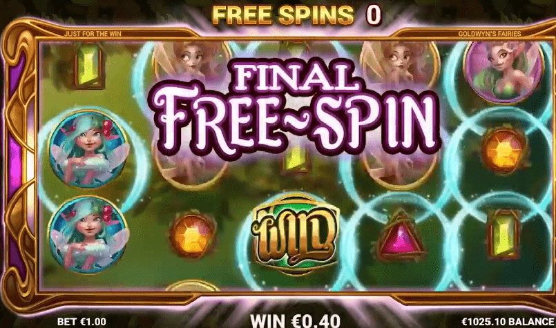 Goldwyn's Fairies free spins