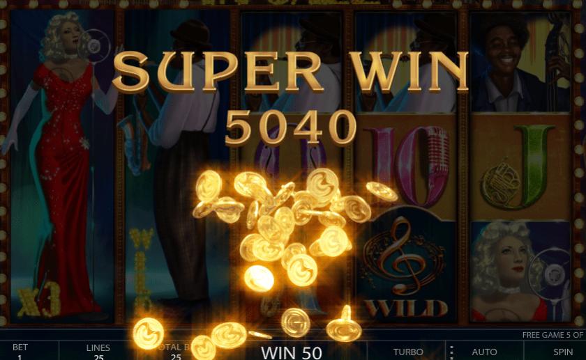 In Jazz slot super big win