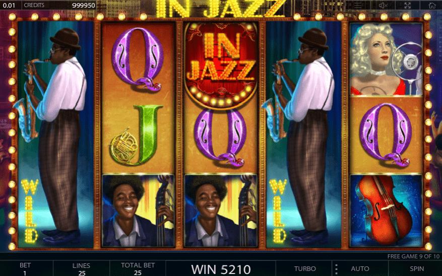 In Jazz online slot game